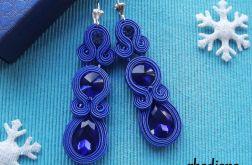 Long Sapphire - kolczyki sutasz