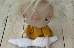 ANIOŁEK - lalka tekstylna,cute angel 12, OOAK