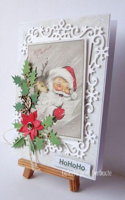 Boże Narodzenie A89 - kartka bożonarodzeniowa