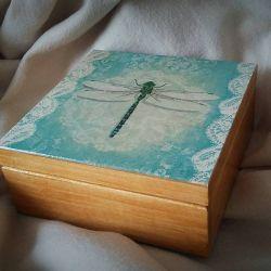 Pudełko na drobiazgi Ważka