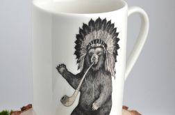 Niedźwiedź Indianin - kubek