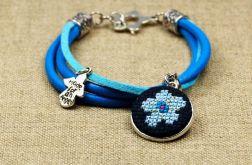 Bransoletka błękitny anioł
