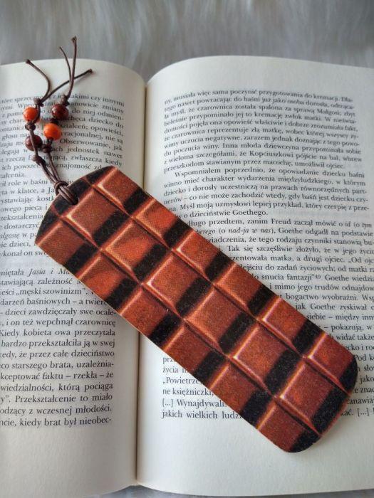 zakładka dla miłośnika czekolady