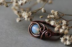 Misha - pierścień z opalem