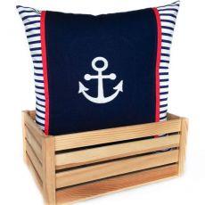 Kotwica ~ poduszka w marynarskim stylu