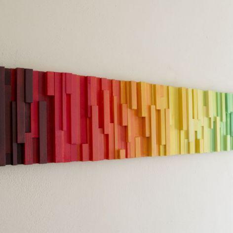 """Obraz drewniany 3D Mozaika drewniana """"Afryka"""""""