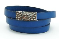 Leather- Navy Blue
