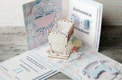 Exploding box - zawiadomienie o ciąży