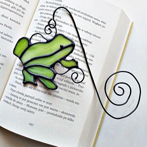 Zakładka do książki Żabka Tiffany