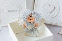 Aniołek Stróż oraz kartka w pudełeczku (a05)