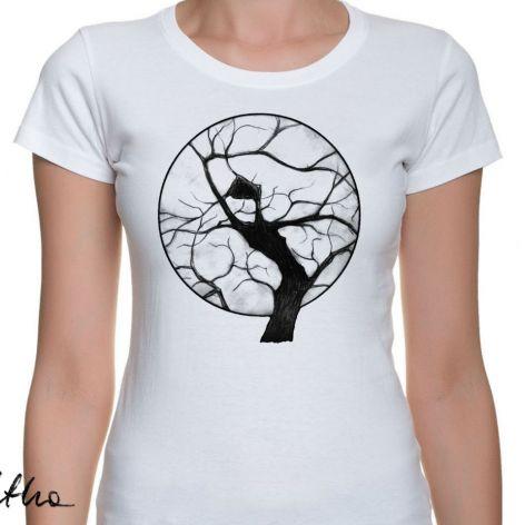 Drzewo - t-shirt damski - różne kolory