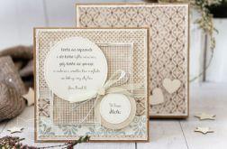 Kartka ślubna w pudełku. Personalizacja (s01)