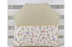 Poduszka dla dziecka - Domek Sowy małe
