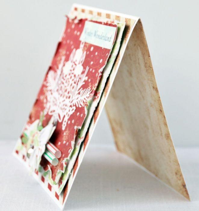 Kartka świąteczna na Boże Narodzenie Winter