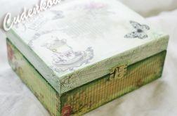 Szkatułka na Herbatę SWEET HOME 15x18 cm
