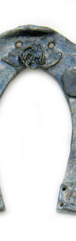 Podkowa ceramiczna - na szczęście
