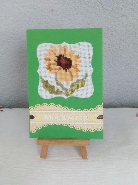 Kartka okazjonalna  - słonecznik
