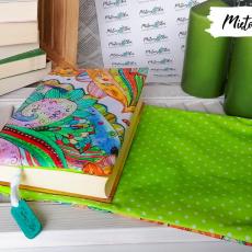 Otulacz / etui na książkę ~ pastelowe mehndi