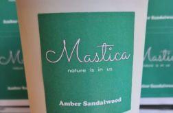 Mastica Amber Sandalwood świeca sojowa