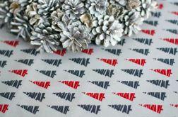Obrus świąteczny w choinki 140x140cm