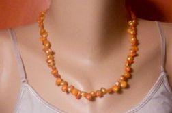 1751. Naszyjnik z pereł słodkowodnych