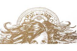 Złoty Anioł - 70x33cm