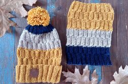 Komplet czapka i komin Przygoda 1