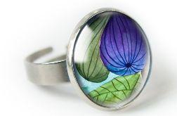 Figi pierścionek z ilustracją