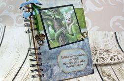 Pamiętnik/ Notatnik- elfy i smoki