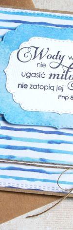 kartka ślubna :: eko :: wody wielkie ::
