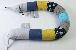 jamnik bawełniany ochraniacz do łóżeczka nr16