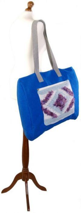 SWS TOREBKI Duża, modna torebka na zimę - Torba na manekinie