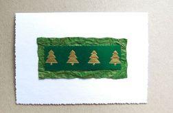 Kartka świąteczna choinki-Nr 2