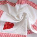 Ręcznik z sercem