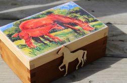 Pudełko dla miłośników koni, prezent