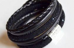 Bransoletka black black