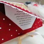 Kartka świąteczna, bożonarodzeniowa,MIKOŁAJ 3 - środek