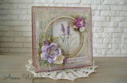 Wiosennie w fioletach