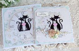 Ślubna kartka w pudełku 307