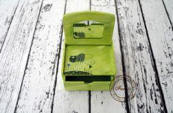 toaletka z kotem zielonym