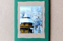 Kartka  zimowy pejzażyk nr 20
