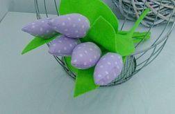 Tulipan 100% bawełna j.fiolet