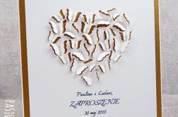 Motyle serce - wzór
