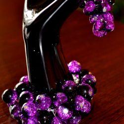 fioletowe kuleczki