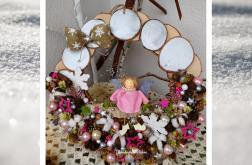Wieniec świąteczny Anioł wz1 prezent upominek