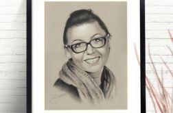 Portret kobiety ze zdjęcia na zamówienie