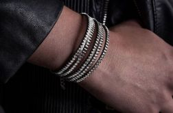 Rockowa designerska bransoletka