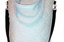 Torebka damska torba shopper jasny