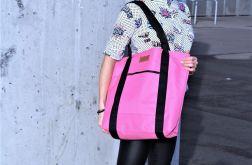 Duża torba szoperka 1 - pink