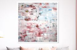 Obraz ręcznie malowany 100x100 cm
